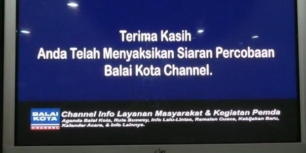 Photo of Siaran Balai Kota Channel Kembali Muncul, Ahok : Saya Tanda Tangan PKS nya