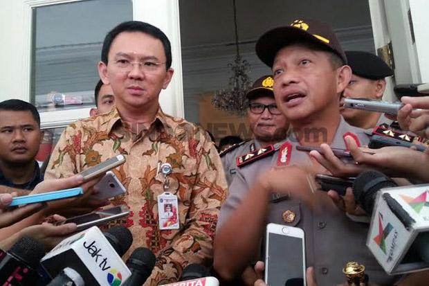 Photo of Bahas Keamanan Jakarta, Ahok dan Kapolda Bertemu