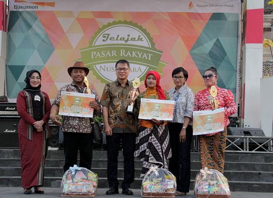 Photo of Danamon Gelar Festival Pasar Rakyat ke-4 di Pasar Ngasem Kota Yogyakarta