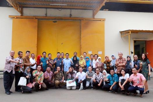 Photo of Food Station Terima Kunjungan TPID Provinsi Jawa Barat