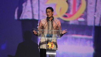 Photo of Sandiaga Hadiri HUT ke-50 Kadin Jakarta