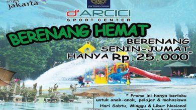 Photo of Ada Program Berenang Hemat di Kolam Renang Arcici Sport Center Cempaka Putih
