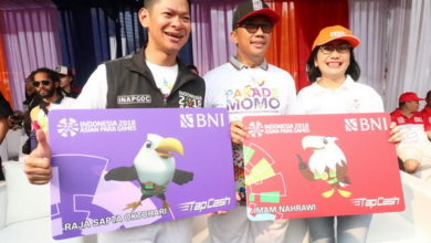 Photo of BNI Dukung Asian Para Games 2018