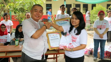 Photo of Tiga Kampus Jakarta Gelar Program Citarum Sehat di Karawang