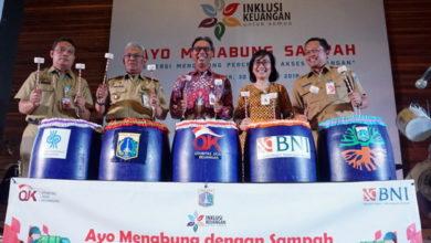 Photo of OJK Gandeng BNI Canangkan Gerakan Menabung Sampah di Jakarta Utara