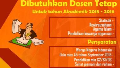 Photo of Akademi Farmasi IKIFA Buka Lowongan Penerimaan Dosen