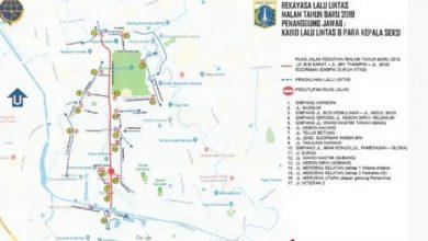 Photo of Beberapa Ruas Jalan Jakarta ditutup Jelang Pergantian Tahun