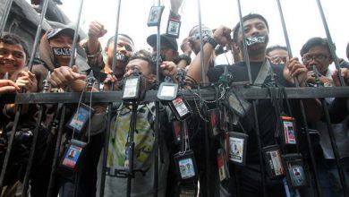 Photo of AJI Jakarta Kutuk Kekerasan Jurnalis saat Munajat 212