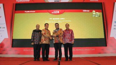 Photo of Bank DKI Raih Penghargaan Top BUMD Award