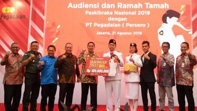 Photo of Pegadaian Berikan Tabungan Emas untuk Paskibraka Nasional 2019
