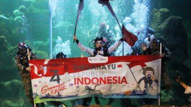 Photo of Jelang Agustusan, Ancol Siapkan Pengibaran Bendera Merah Putih di Sea World