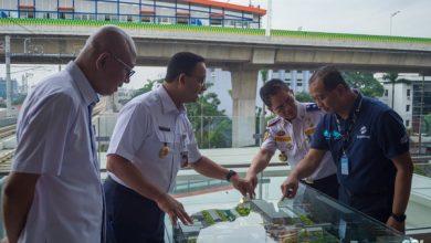 Photo of Anies Resmikan Pembangunan Integrasi Stasiun ASEAN dan Halte CSW
