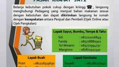 Photo of Siasati Minimnya Pengunjung Pasar karena WFH, Pasar Jaya Luncurkan Program Belanja Online