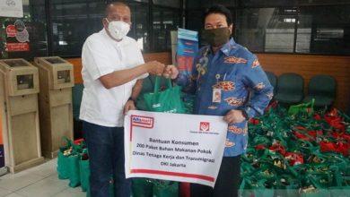 Photo of Alfamart Bagikan Masker dan Paket Sembako untuk Disnakertrans DKI