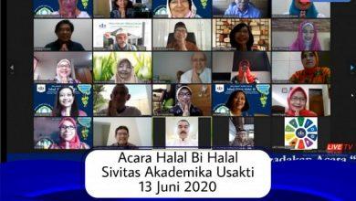 Photo of Digelar secara Daring, Halal Bi Halal Sivitas Akademika Usakti diikuti oleh 1102 Peserta