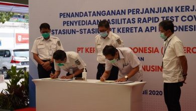 Photo of Jalin Kerjasama dengan KAI, RNI Sediakan Fasilitas Rapid Test di Stasiun dengan Harga Rp 85 Ribu