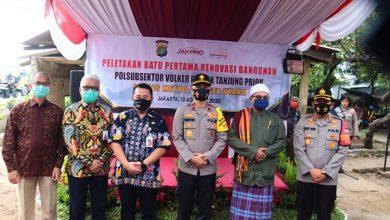 Photo of Jakpro Bantu Renovasi Polsubsektor Volker di Jakarta Utara