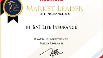 Photo of BNI Life Raih Penghargaan Market Leaders Asuransi Jiwa