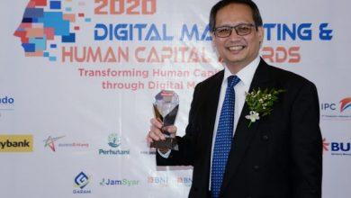 Photo of BPJAMSOSTEK Raih 2 Penghargaan dalam Ajang Digital Marketing & Human Capital Award 2020