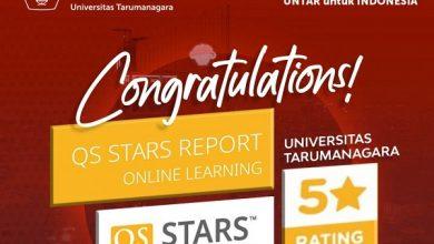 Photo of Online Learning UntarRaih Penghargaan Lima Bintang dari QS Stars