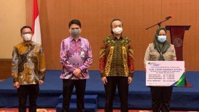 Photo of BPJAMSOSTEK Kelapa Gading Serahkan Santunan Kepada Ahli Waris Relawan COVID-19