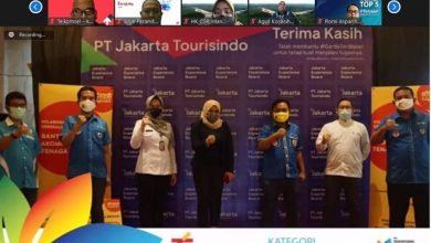 Photo of Peduli Covid-19, Jakarta Experience Board Raih Penghargaan di Teropong CSR Award 2021