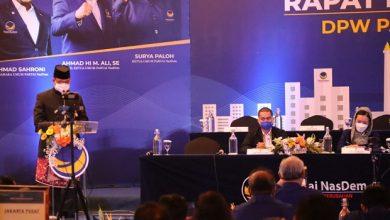 Photo of Rakorwil NasDem DKI, Anies Teringat Terjun ke Masyarakat Bersama WibiAndrino