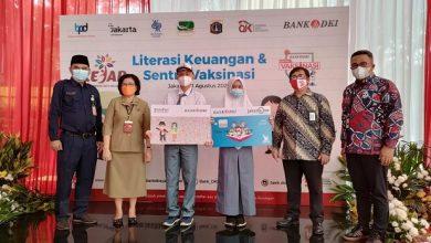 Photo of Gandeng Pemprov DKI dan OJK, Bank DKI Gelar Literasi Keuangan dan Vaksinasi untuk Pelajar
