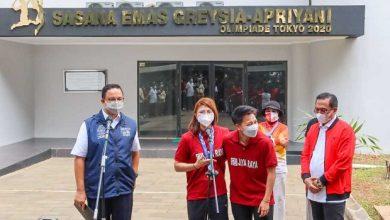 Photo of Nama Greysia-Apriani Diabadikan Jadi Nama Gedung Olahraga di PPOP Ragunan