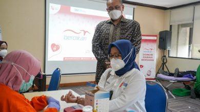 Photo of Rayakan HUT ke 55, Berdikari Gandeng PMI DKI Jakarta Adakan Donor Darah