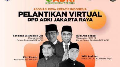 Photo of Dilantik Sebagai Ketua ADKI Jakarta, Wibi: Siap Bangun Kampung Kreatif