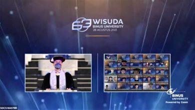 Photo of Wisuda 63 BINUS UNIVERSITYLepas 2.905 Lulusan danTerapkan Ijazah Digital