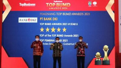 Photo of Bank DKI Raih Top BUMD Awards 2021