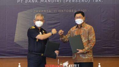 Photo of Bea CukaiGandeng Bank Mandiri Kerja sama NLE